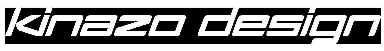 kinazo_design_logo_white