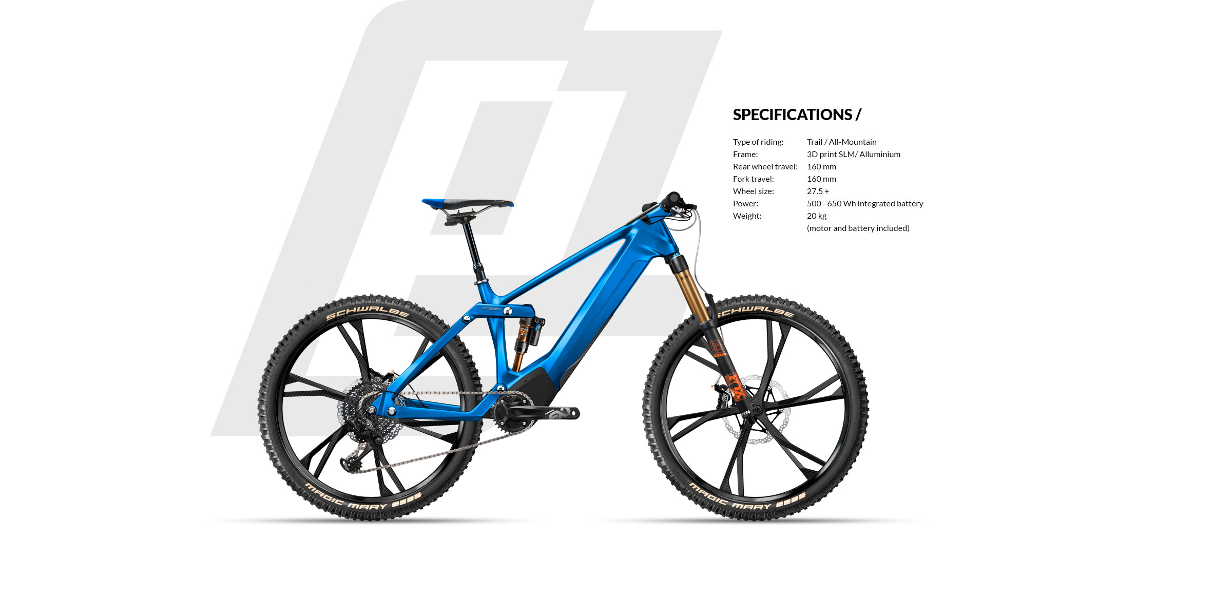 Kinazo ebike e1 - The first 3D printed enduro ebike  Turn